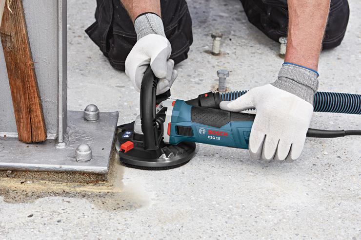 чем шлифануть бетон
