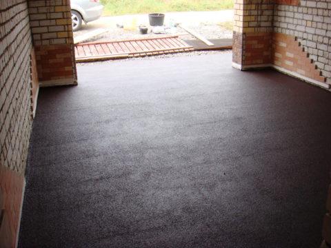 Специальные добавки позволят сделать бетонный пол не только красивым, но и безопасным