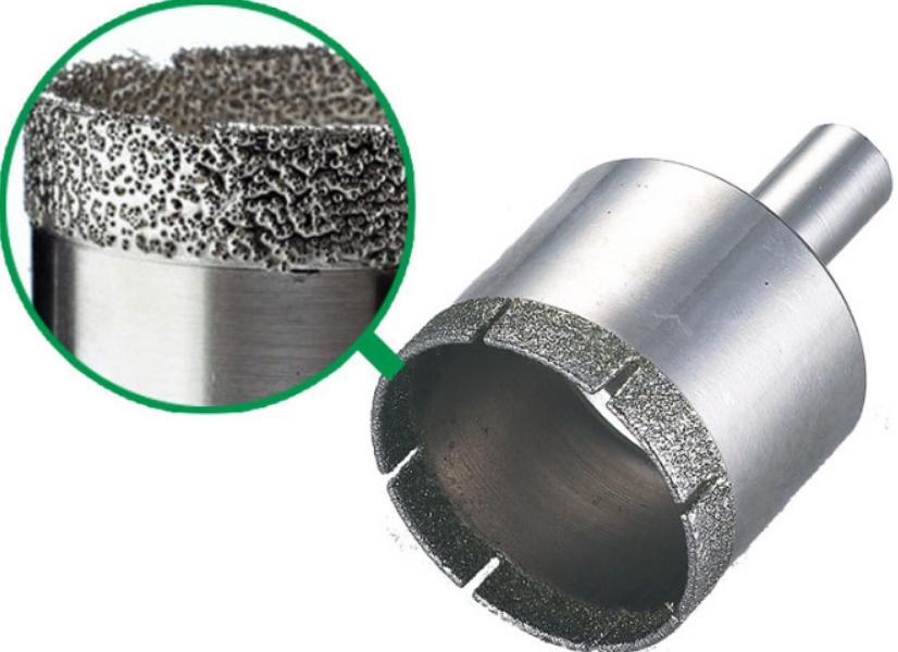Как работает алмазная коронка по бетону?