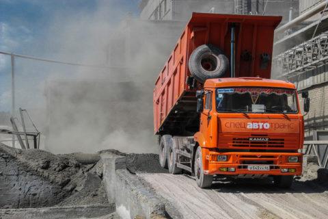 А сколько пыли от цементного производства