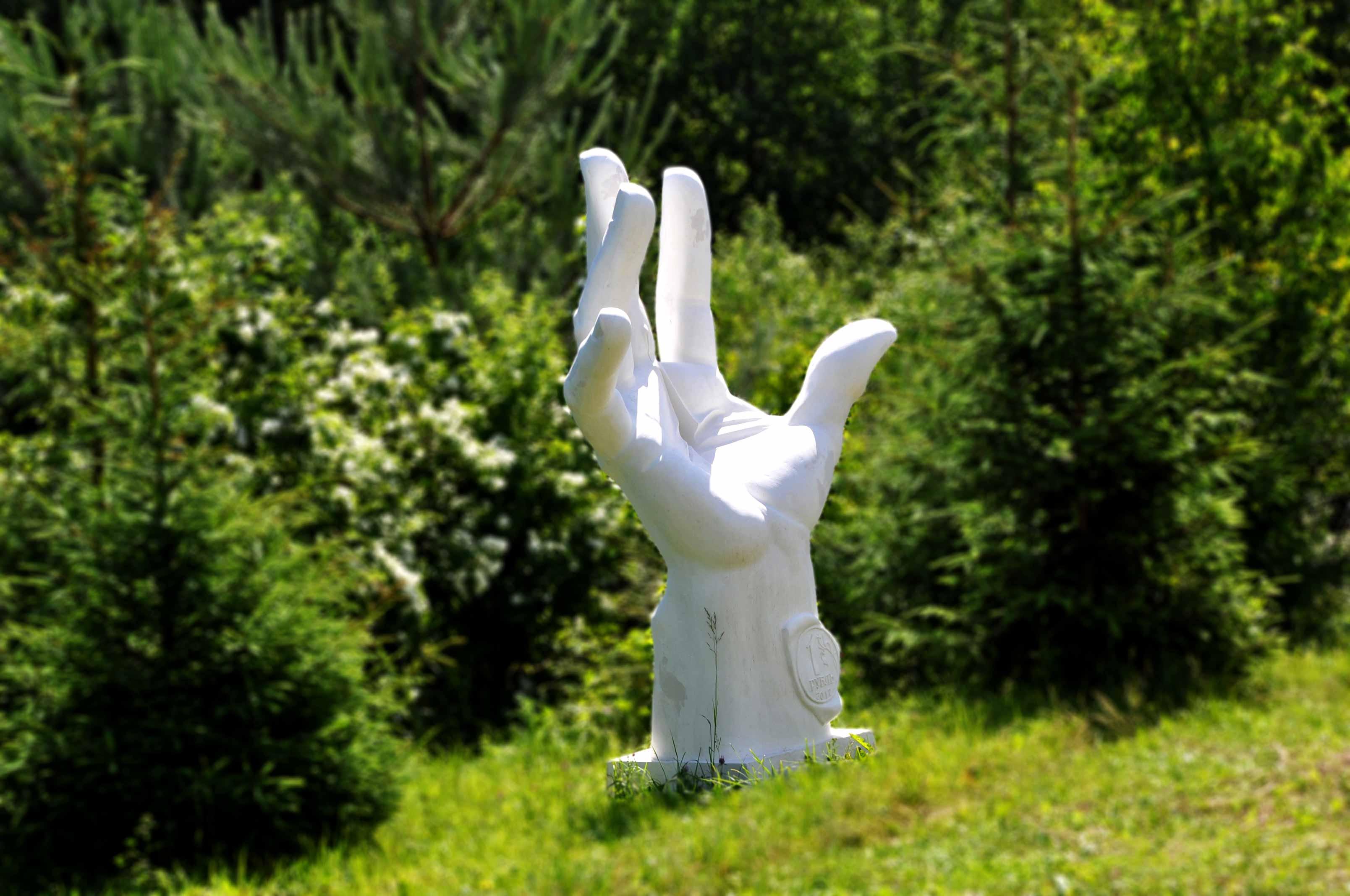 Скульптура в саду своими руками из бетона фото 419