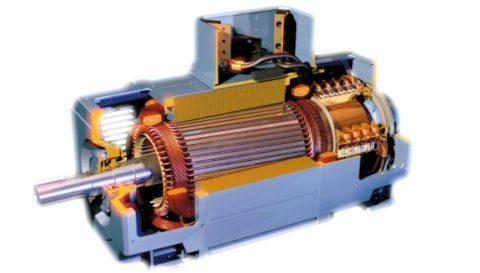 Электродвигатели европейских агрегатов похожи на произведение искусства, но часто встречаются в исполнении с питанием постоянным, а не переменным током