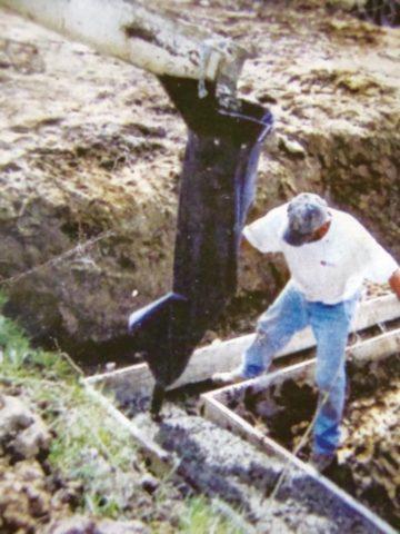 Хобот для подачи бетона