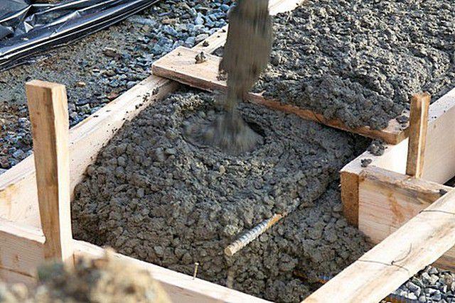 Бетон для фундамента из гравия пластификаторы для растворов цементных в волгограде