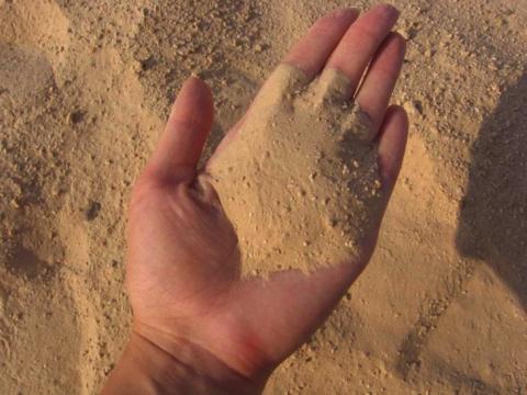 Нам нужен песок с модулем крупности меньше единицы