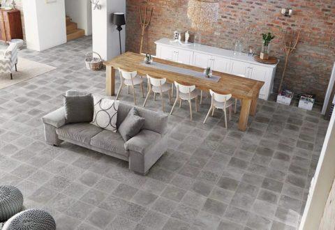 Реалистичная имитация бетонной плитки