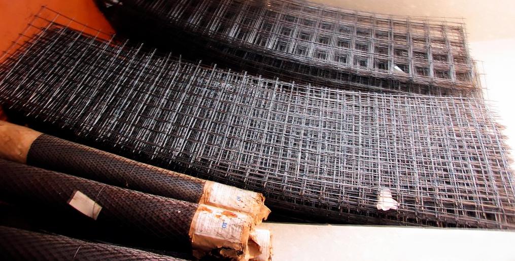 металлическая сетка под бетон купить