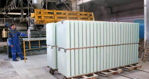 Цех на производстве блоков из автоклавного газобетона
