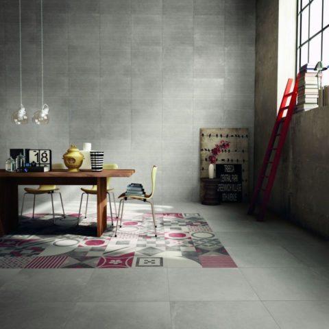 Уютный уголок посреди холодного бетона
