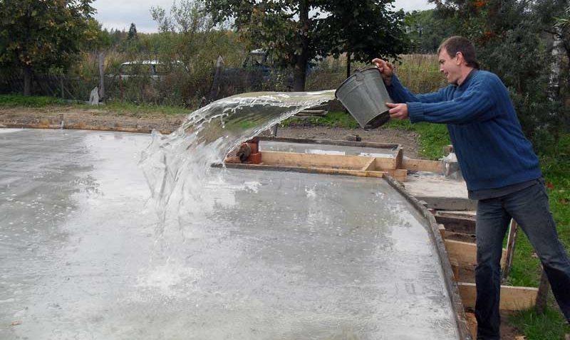 Твердеет бетон как правильно заливать керамзитобетон
