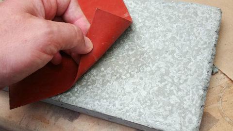 Затвердевший бетонный образец