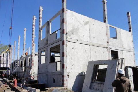 Бетонные панели для строительства