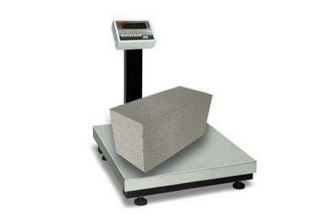 Чтобы определить вес блока бетонного нужно его взвесить