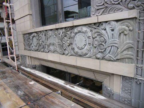 Декор, выполненный из архитектурного бетона