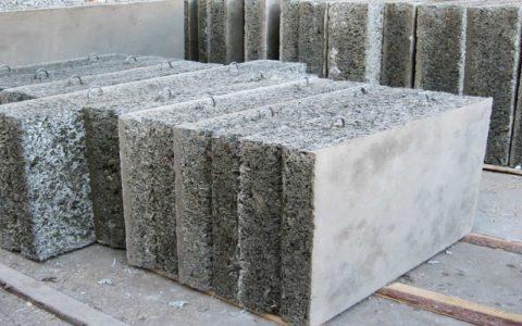 Древесно бетонные изделия