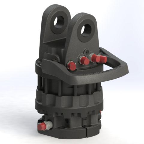 Гидравлический ротатор – крайне полезная штука, позволяющая ножницам не только поворачиваться относительно оси, но и вращаться вокруг нее