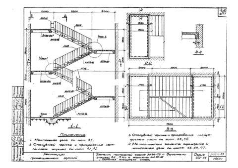 Лестничный марш избетона: проект учитывает все размеры лестницы