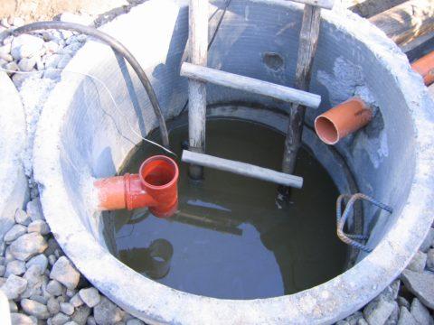 Ливневая канализация: колодец бетонный