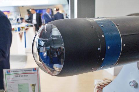 Оптические и телевизионные головки наведения бетонобойных боеприпасов - пока очень редкое конструкторское решение
