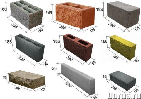 От структуры блока зависит и его вес