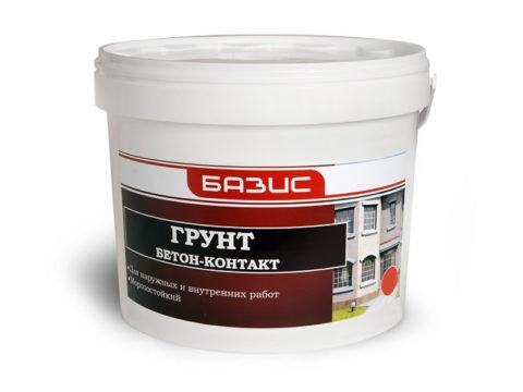 Праймер для бетонных поверхностей