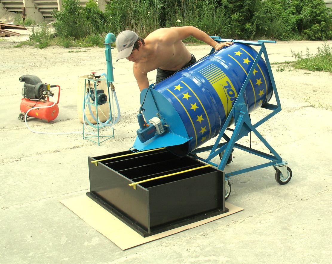 производство пеноблока в домашних условиях