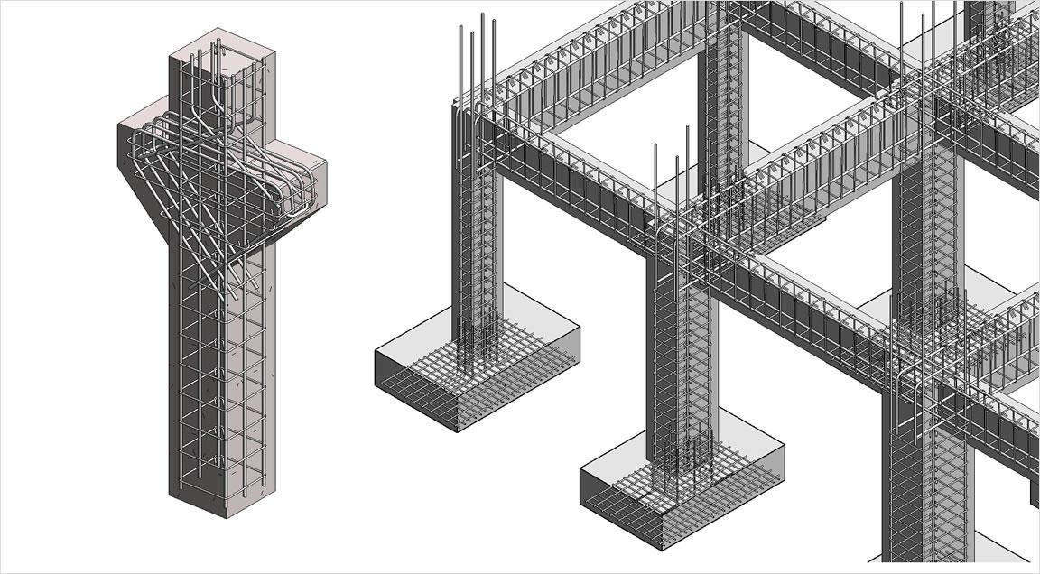 принципы армирования железобетонных конструкций
