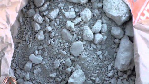 Такой цемент использовать нельзя