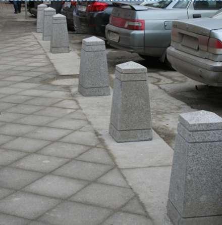 Трапециевиднаяформа для бетонных столбиков