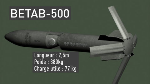 В дополнении к тормозному парашюту в задней части корпуса на современных моделях бомб располагаются аэродинамические тормоза