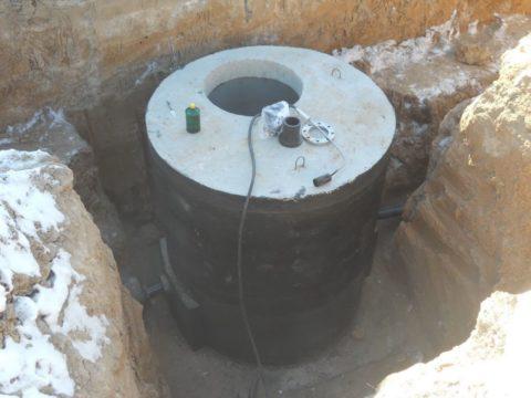 Внешняя гидроизоляция