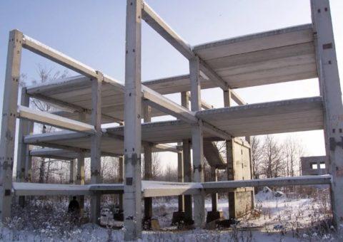 Возведение здания по унифицированной схеме