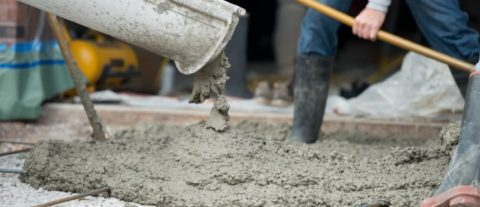 Запалубливание бетона В15