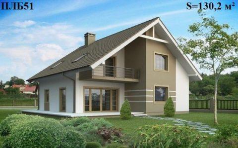 Дома из полистиролбетона – проекты зданий с мансардным этажом