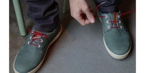 Эко шнурки для обуви, изготавливаемые также из отходов промышленных предприятий