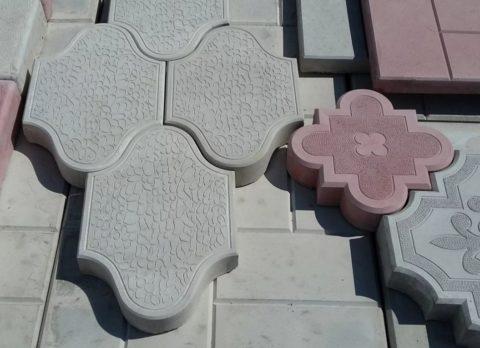 ГОСТ 17608 91плиты бетонные тротуарные— тип «Ф»