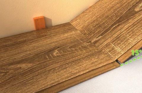 Как правильно укладывать ламинат на бетонный пол: торцевая стыковка
