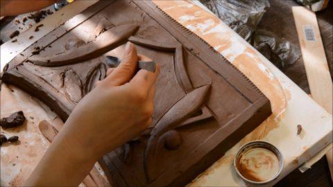 Как сделать форму для отливки из бетона: фигурная лепка