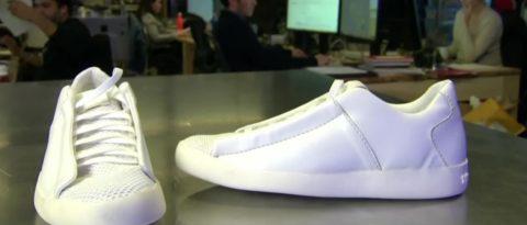 Кроссовки, очищающие планету от загрязнений – именно так их презентовали всему миру на выставке