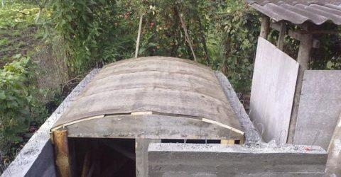 Нижняя часть опалубки под перекрытие