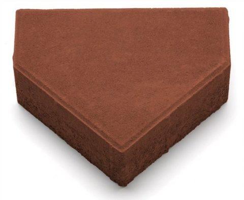 Плитки бетонные тротуарные толщ 70 ммвформе пятиугольника— тип Д