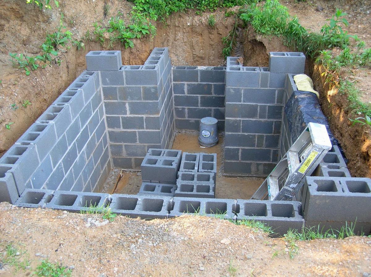 бетон погреб