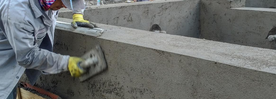 Ремонт бетону размер бетона блока