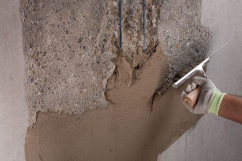 Ремонт бетонных поверхностей с применением материалов «ЦМИД»