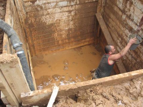 Вот такими сюрпризами чревато строительство без разведки уровня грунтовых вод