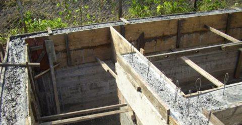 Заливка подвала бетоном