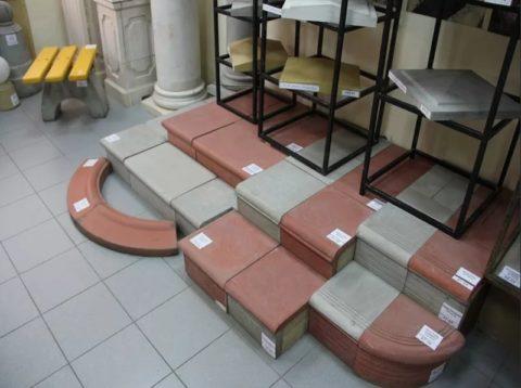 Заводские ступени из бетона