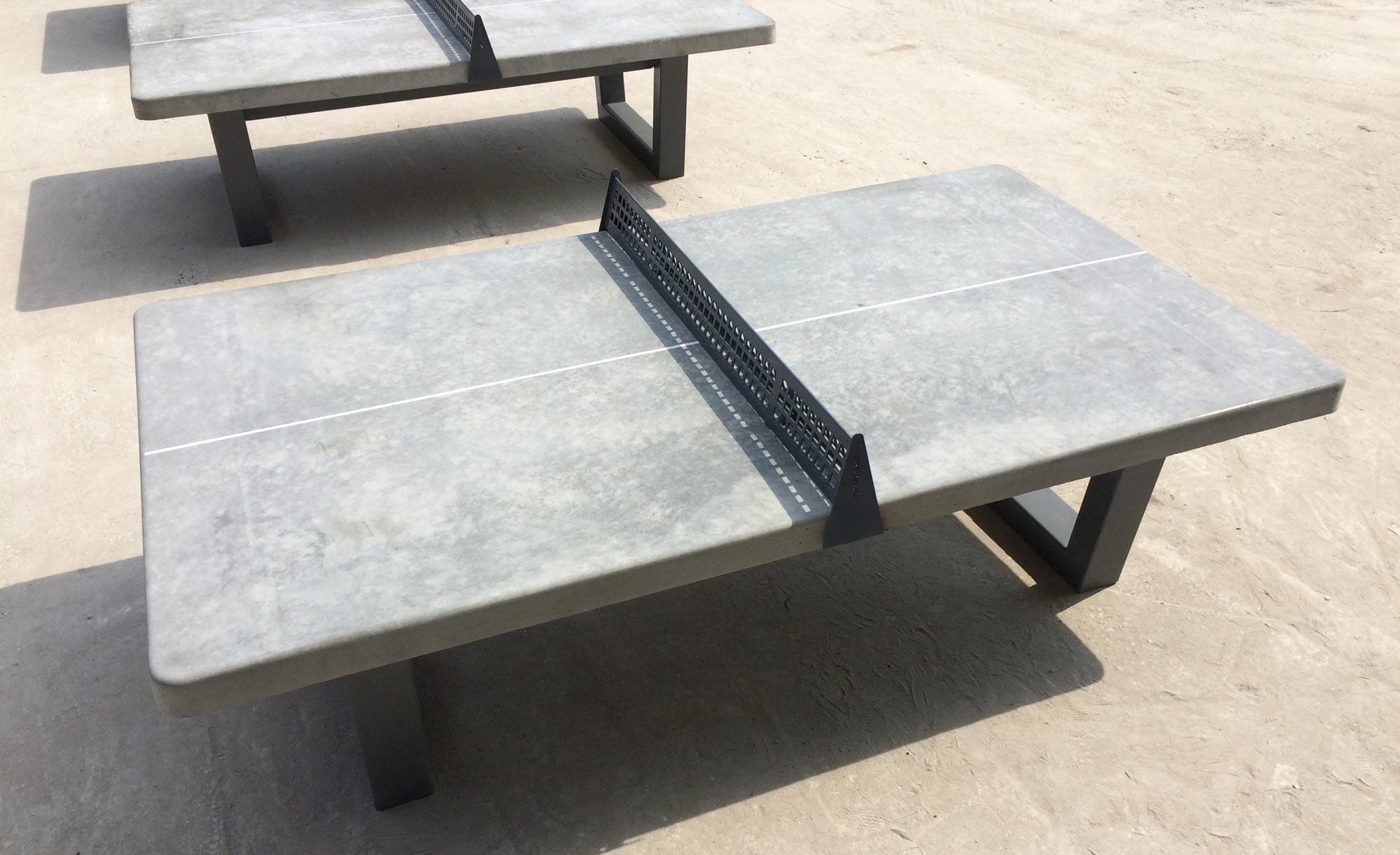 Теннисный стол бетонный