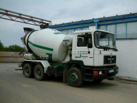 Фото автобетоносмесителя – машины для смешивания и транспортировки бетона