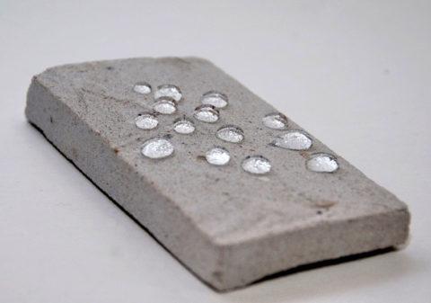 Гидроизолированный бетонный образец